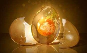 Рисунок с яйцом