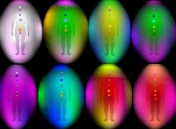 Разные цвета энергетического поля
