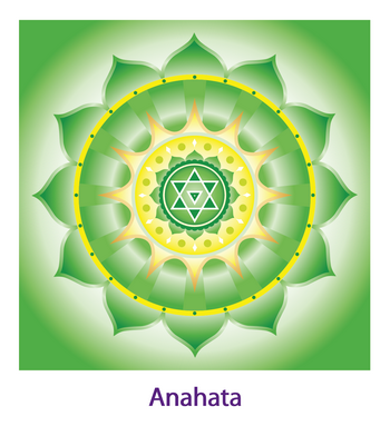 Рисунок чакры анахата