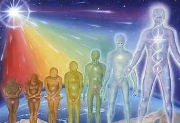 Рисунок людей с неоткрытыми чакрами