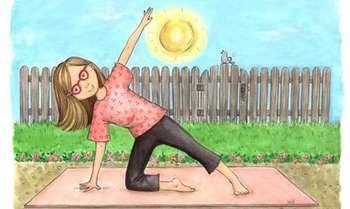 Рисунок утренней гимнастики