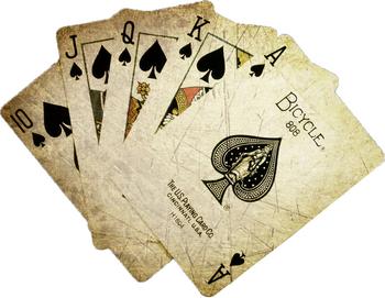 Старые игральные карты