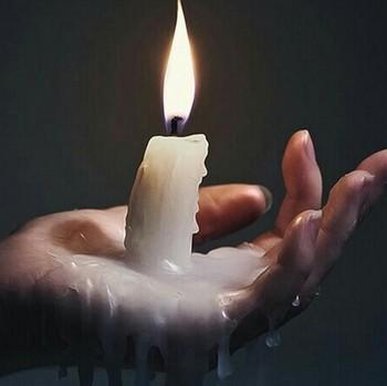 Обряды на свечном воске