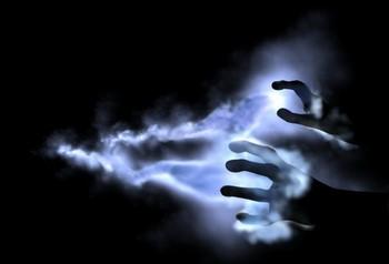 Холодный дым из рук