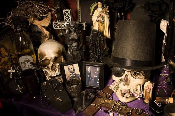 Кладбищенский приворот от колдуна вуду Аморая