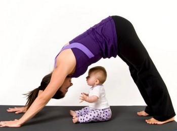 упражнения бэби йоги