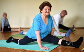 занятия гормональной йогой для людей в возрасте