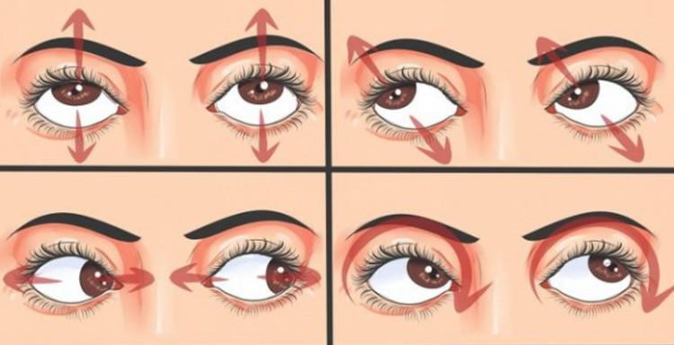 тренировка глаз из йоги