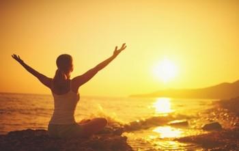 медитация на восходе