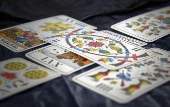 обозначение карты 5 пентаклей