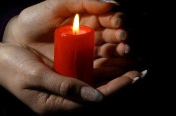 свеча для гадания