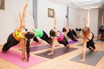 занятия в центре йоги