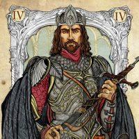 Обозначение и сочетание аркана Император с остальными картами
