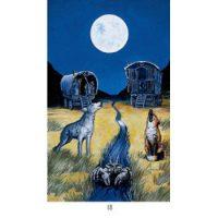 Аркан Луна — основное значение и комбинации с другими картами