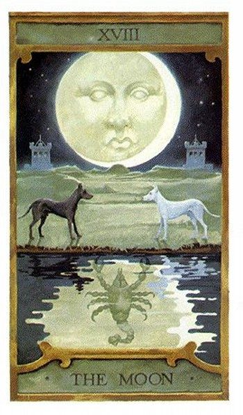 комбинации с картой Луна
