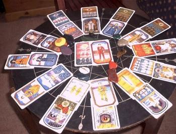Количество карт в колоде Таро