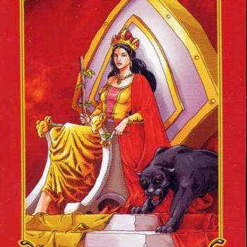 Основное значение в различных раскладах Королевы Жезлов