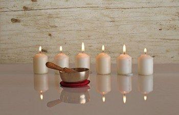 свеча для медитации