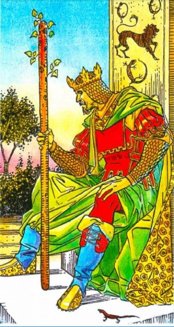 Король Жезлов Таро