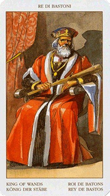 комбинации с картой Король Жезлов