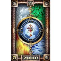 Значение и основные комбинации с картой Таро «Мир»