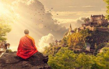 направленная на Будду медитация