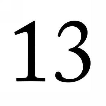 Значение числа 13
