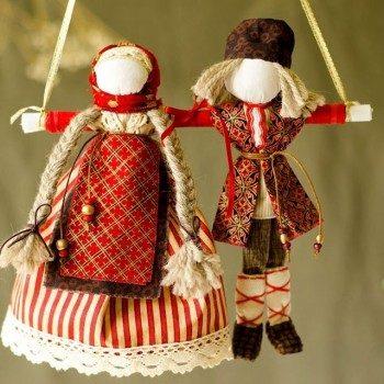 Неразлучники — кукла-оберег