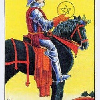 Рыцарь пентаклей — значение при гадании