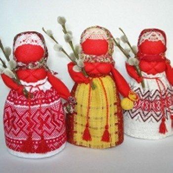 Создание Пасхальной куклы-оберега