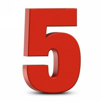 Число судьбы 5