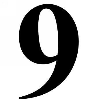 Значение числа 9